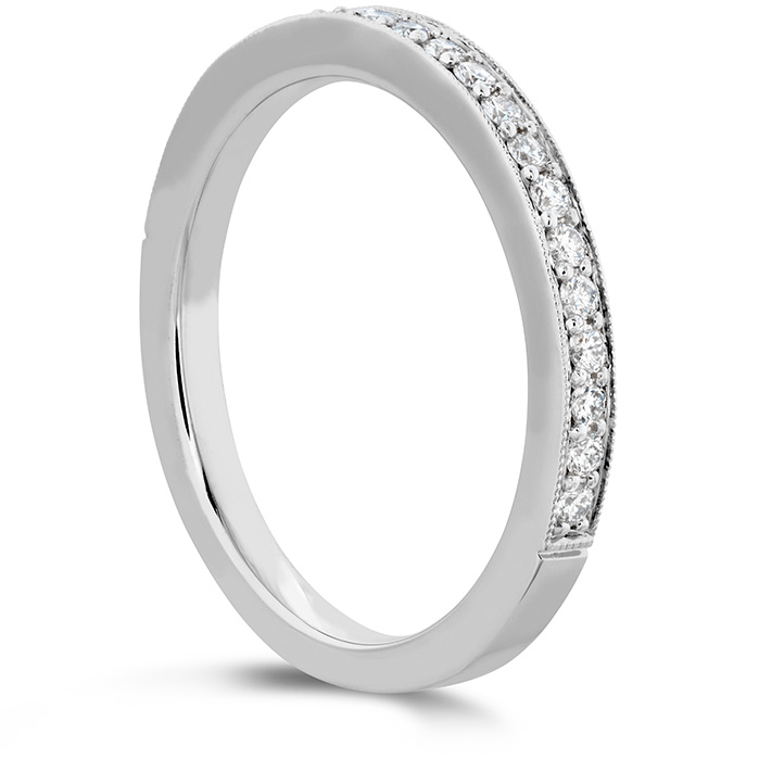 Liliana Milgrain Diamond Band