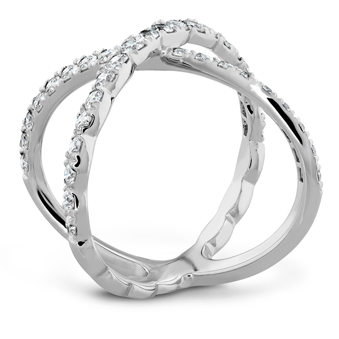 Lorelei Diamond Criss Cross Ring