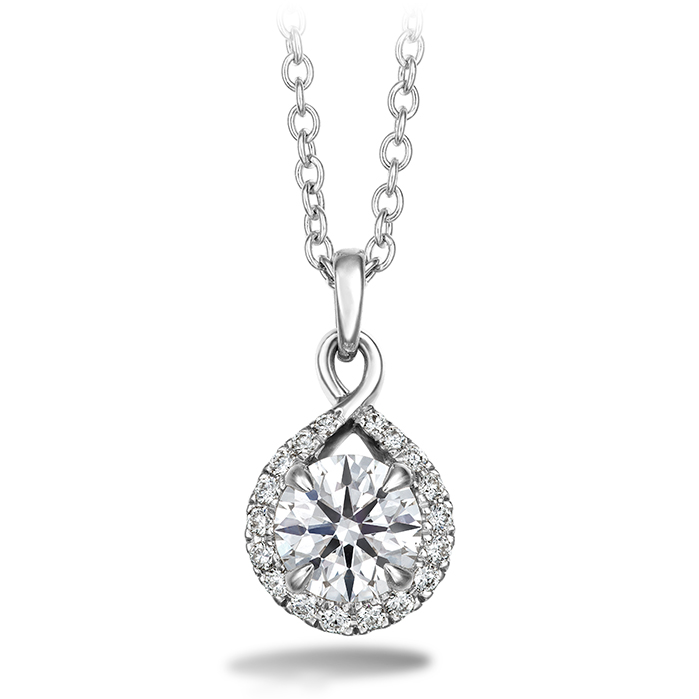 Optima Diamond Drop Pendant