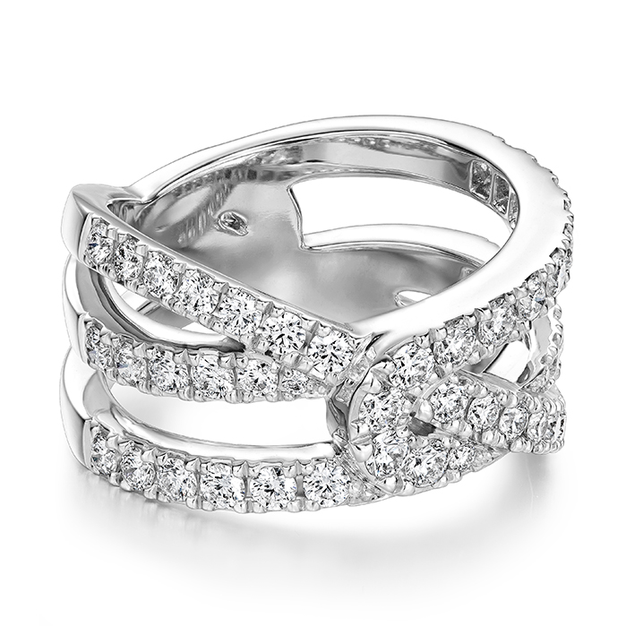 Optima Diamond Wrap Ring