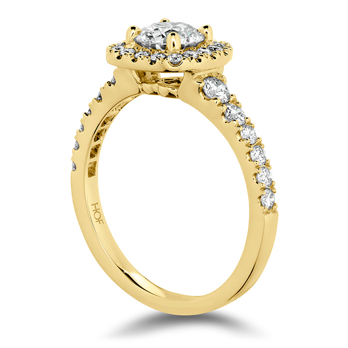 Transcend Premier Custom Halo Engagement Ring