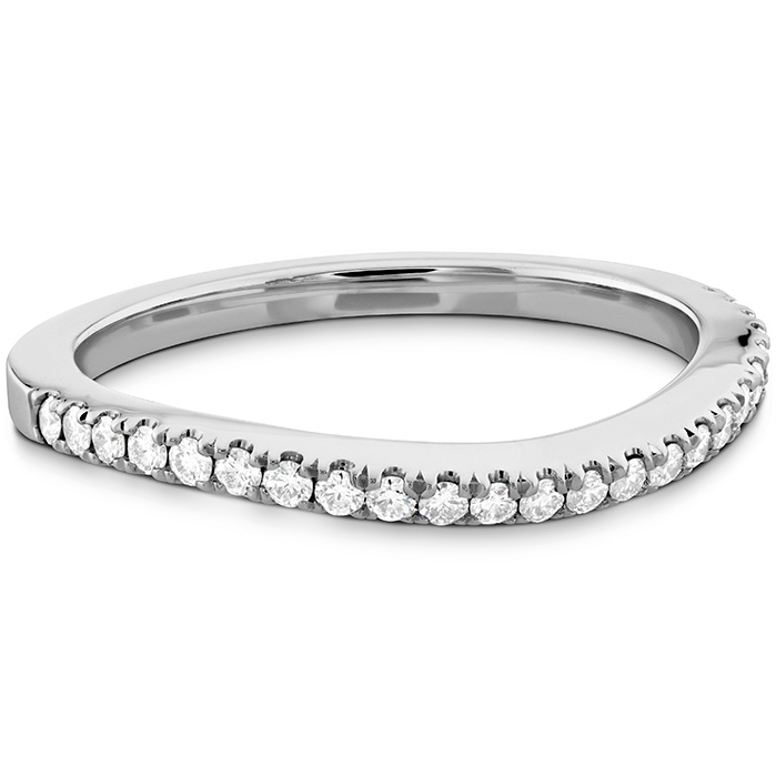 Transcend Premier Curved Diamond Band